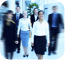 blurred photo of people walking