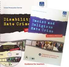 School Resources on Disability, Racist and Religious Hate Crimes